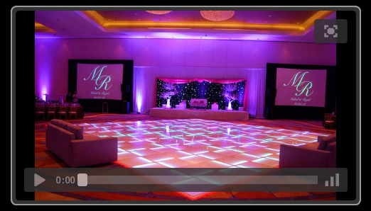 LED Dance Floor Rental in Texas